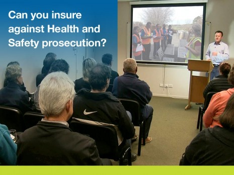 Can you insure against health safety prosecution