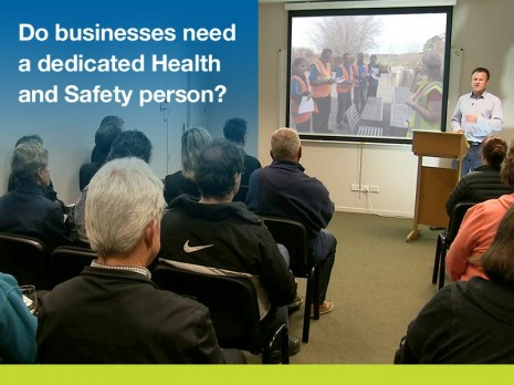 Do businesses need a dedicated health safety person