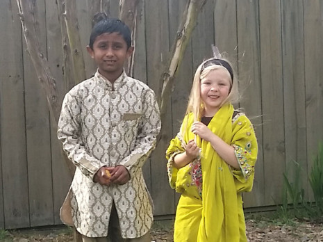 Rahil Prasad and Kara Borgfeldt also dressed for the occasion.