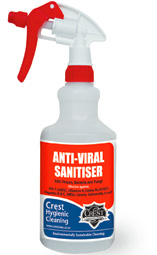 Anti-Viral Sanitiser Spray Bottle