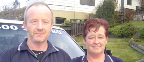 Dunedin Personnel Profile Alistair And Mary Mccormick