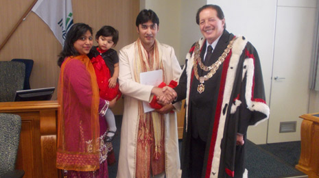 Invercargill's newest Citizens welcomed by Invercargill Mayor Tim Shadbolt