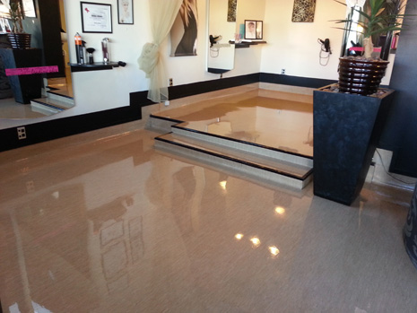 Best Looking Salon Floors In The City Crestclean