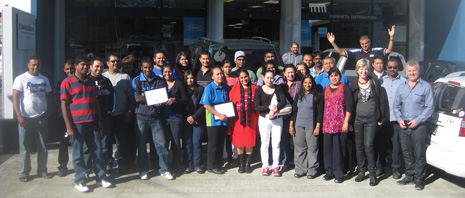 Here's the CrestClean Wellington and Hutt Valley Teams, May 2013