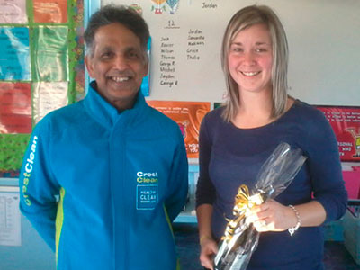 Cleanest Classroom Award Salford School Invercargill