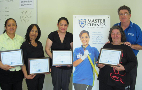 First four Master Cleaners Scholarship Recipients Successfully Complete Their Training