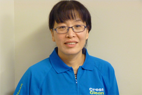 Chunhui (Crystal) Zhao, franchisee and Crest Ambassador