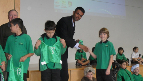 CrestClean Sponsors Silverdale School Sports Team