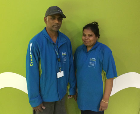 Impressive ambition from Ashveen and Kamini Raju, new franchisees in North Harbour.