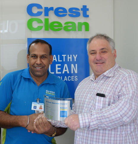 Franchisee Kamal Jeet Singh and Auckland Regional Director Dries Mangnus – the two have worked together for 12 years.