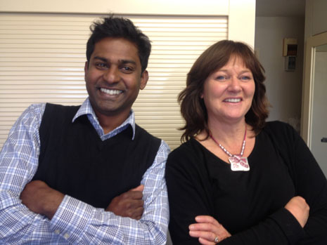 Kiri James and Yasa Panagoda go way back -- both are now Regional Directors for CrestClean.