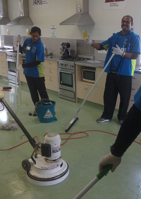 CrestClean's franchisees give the Hard Floor Care training course a thumbs up.