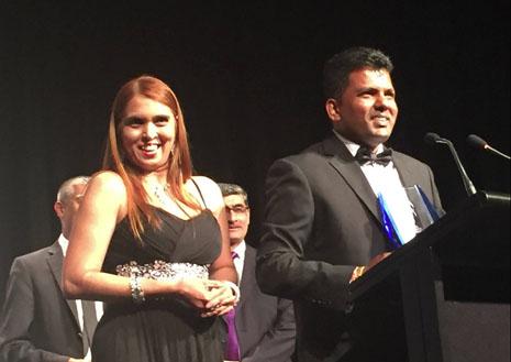 Nileshna and Viky Narayan in the spotlight.