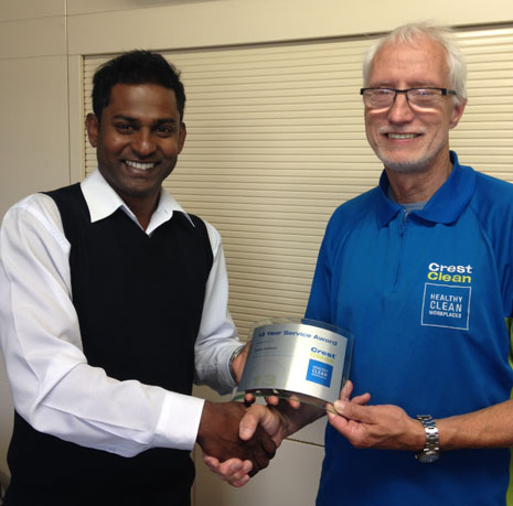Grant Holland, one of the longest serving Christchurch -- and CrestClean -- franchisees