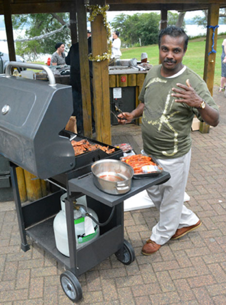 Fortunately, new franchisee Lalith Degambada is a professional chef, too.