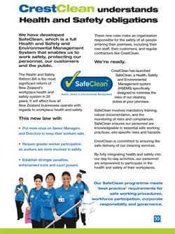 Download our SafeClean Flyer (PDF 1.9mb)