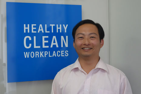 Jason Cheng is CrestClean's new Operations Co-ordinator for Hamilton, Tauranga and Rotorua.
