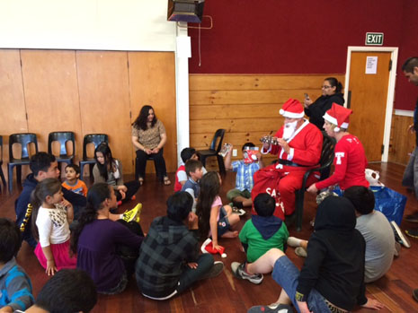 All the CrestClean kids from Hutt Valley, Wairarapa and Wellington have been good this year, according to Santa.