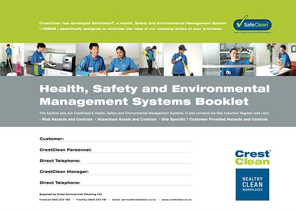 Health, Safety and Environmental Management Systems Booklet