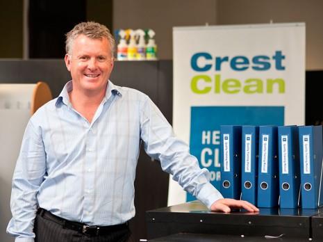 CrestClean Managing Director Grant McLauchlan.