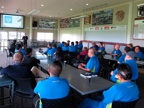 The Hamilton team meeting was a huge success with over 40 franchisees attending.