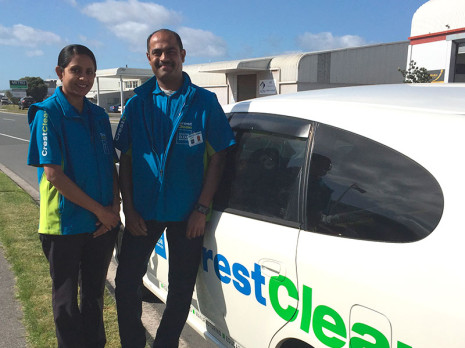 Anuragni and Sangeet Chandra enjoy being part of Crest.