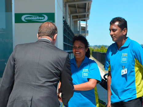 orth Harbour franchisees Radhna and Naresh were honoured to meet Prime Minister Rt Hon John Key.