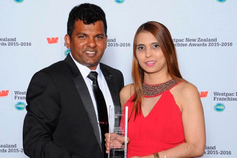 CrestClean South and East Auckland Regional Managers Viky and Nileshna Narayan won the 2015/2016 Master Franchisee of the Year at the Westpac New Zealand Franchise Awards.