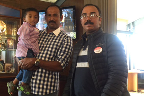 Joby, Joseph and Vinod Anthony.