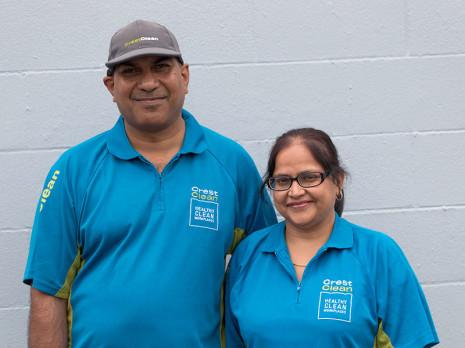 Hamilton franchisees Krishn and Sangeeta Adhar are valued members of the Crest Waikato team.