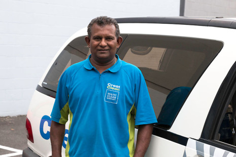 Gayaneshwar Raju is one of Crest's long-standing franchisees.