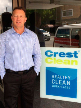Crest's Ashburton office is located in Burnett Street. Pictured is South Canterbury Regional Manager Robert Glenie.