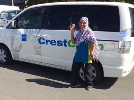 Christchurch South franchisees Rakesh Kumar and Nasreen Kaskar's vehicles passed the latest audit.