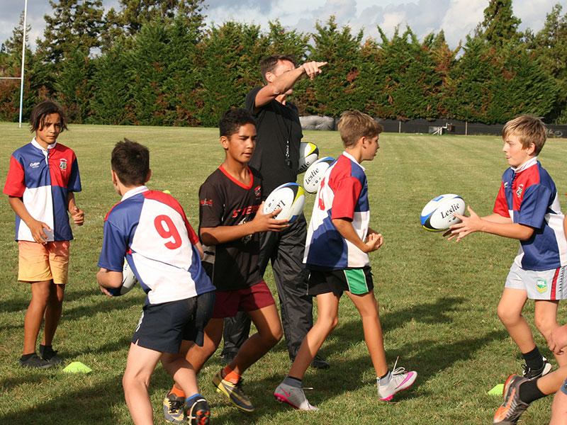 Crestclean Sponsors Kerikeri Junior Rugby Coaching Clinic