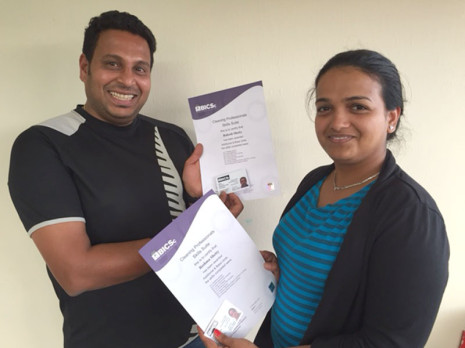 Christchurch South franchisees Rakesh and Reshma Shetty enjoy being part of CrestClean.