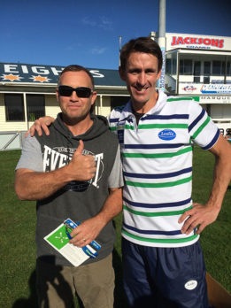 South Canterbury Regional Manager Robert Glenie enjoyed the coaching session that was run by John Leslie.