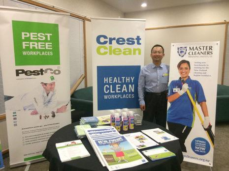 Waikato/Bay of Plenty Quality Assurance Co-ordinator Jason Cheng enjoyed attending the Waikato Principals' Association Conference with Waikato Regional Manager Nivitesh Kumar.