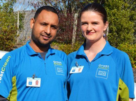 Happy Singh and Anne McKibben-Singh leave Dunedin after a successful 18 months.