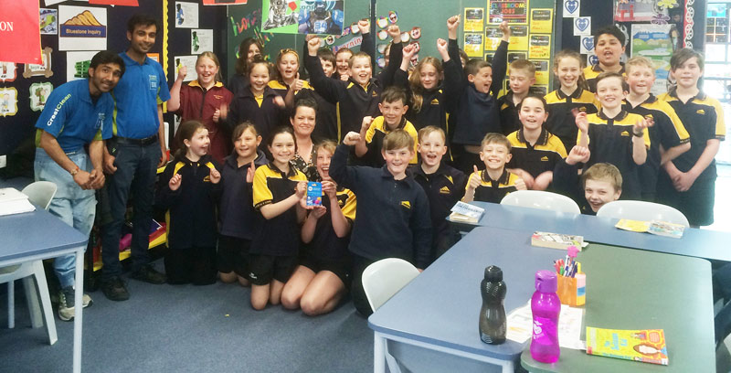 The Senior School R14 won the Cleanest Classroom Award.