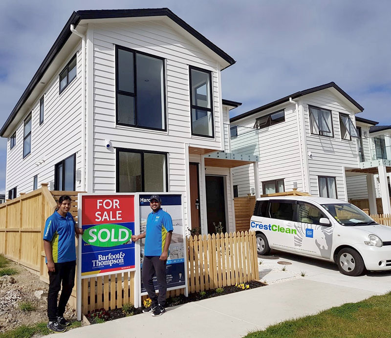 Mitra Kancharla and Jeevan Gundampati have just moved into a brand new home in Hobsonville Point.