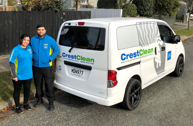 Tej and Samreen Dhillon customised the wheels on their Nissan NV200.