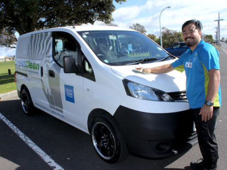 Ralph Sales takes a shine to his NV200.