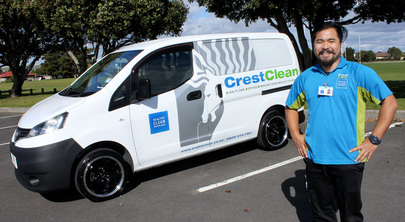 Ralph Sales loves the new look the wheels have brought to his Nissan NV200 van.